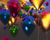 99 Balloons by MrXwild, Computer->3D gallery