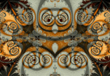 Pumpkin & Spice by Flmngseabass, abstract->fractal gallery
