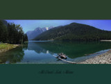 McDonald Lake Panoramic by griz74, Photography->Mountains gallery