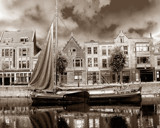 Delfshaven Sepia Rotterdam by rvdb, Photography->City gallery