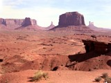 Navajo Country. Monument Valley from John Ford Point. by fotobob, Photography->Landscape gallery