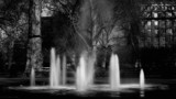 Fountain - Russell Square by coram9, contests->b/w challenge gallery
