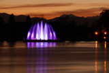 Sunset fountain by wheedance, photography->sunset/rise gallery