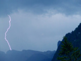 Thunder in Alps by thekorger, Photography->Skies gallery