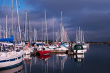 Storm brewing over the marina by ShanFromCan, Photography->Boats gallery