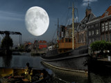 Big Moon by rvdb, photography->manipulation gallery