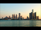 Detroit Skyline by gerryp, Photography->City gallery