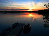 Sunset Over Bear Lake by ajstri2, Photography->Sunset/Rise gallery