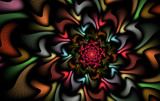 Chameleon Cluster by tealeaves, Abstract->Fractal gallery