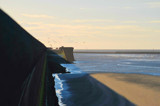 Sun, Seawall and Shadow by braces, Photography->Shorelines gallery