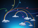 Rainbows by vladstudio, Illustrations->Digital gallery