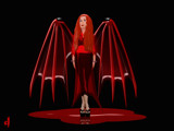 In the Red by Jhihmoac, Illustrations->Digital gallery