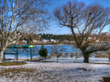 Winter Lakescape by Tedi, photography->landscape gallery