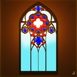 East Window by Jhihmoac, illustrations->digital gallery