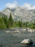Grand Tetons And The Meandering River by Zava, photography->mountains gallery