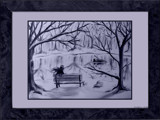 Winter Reflections by mesmerized, illustrations->traditional gallery