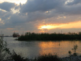 Sunset on the Mississippi River by Vivianne, Photography->Sunset/Rise gallery