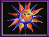 Sun and Moon Framed by tweeker2, illustrations->digital gallery