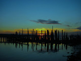 Last of the Pilings by busybottle, photography->sunset/rise gallery