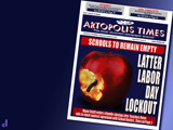Artopolis Times - 2012 Teachers' Strike by Jhihmoac, illustrations->digital gallery