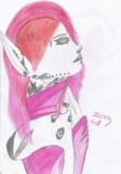 Pinkish elfin or elffen by Zenny, illustrations->traditional gallery