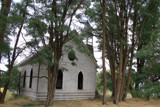 Old Methodist Church Grass Valley Oregon by auroraobers, photography->places of worship gallery