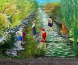 Down Creek Way by mesmerized, illustrations->traditional gallery