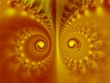 Dueling Fire Caterpillars by whozurdoggy, Abstract->Fractal gallery