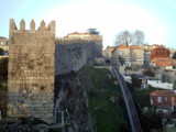 Oporto Wall by Fergus, photography->castles/ruins gallery