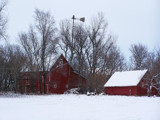 Snowy Farmstead by kidder, Photography->Architecture gallery