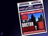 Artopolis Times - Motor City Mothball by Jhihmoac, photography->manipulation gallery