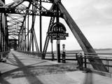 Chain of Rocks Bridge B&W by jojomercury, Photography->Bridges gallery