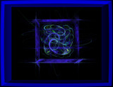 Blue Square Blue by sandserene, Abstract->Fractal gallery