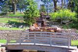 Footbridge & Waterfalls by kidder, Photography->Landscape gallery