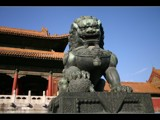 Chinese Temple Lion by Petrone330, photography->sculpture gallery