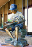 Boy Reading by kidder, Photography->Sculpture gallery