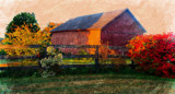 Fenced In Barn by mirto56, photography->manipulation gallery