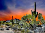 Desert Sunset by snapshooter87, photography->manipulation gallery
