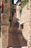 Stair way to Assisi by Corconia, Photography->Architecture gallery