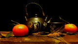 Tea & Oranges by mesmerized, photography->still life gallery