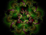Holly Daze - Merry Christmas by jswgpb, Abstract->Fractal gallery