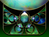 Butterfly Stained Glass by nmsmith, Abstract->Fractal gallery