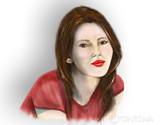 Red Poser by vangsdesign, illustrations->digital gallery