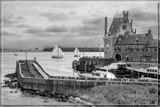 Medieval Little Harbor by corngrowth, contests->b/w challenge gallery