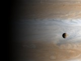 Jupiter and Io by Crusader, space gallery