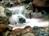 Rocks and Water 3 by djholmes, Photography->Waterfalls gallery