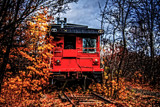 Caboose by Eubeen, photography->trains/trams gallery