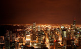 Chicago Skyline by CustomX, Photography->City gallery