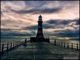 Roker Light by Dunstickin, photography->lighthouses gallery