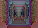 Rainbow Hallway by Joanie, abstract->fractal gallery